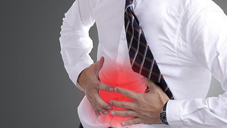 Ból brzucha może być objawem wielu chorób