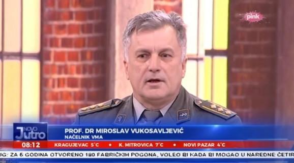 Miroslav Vukosavljević, načelnik VMA