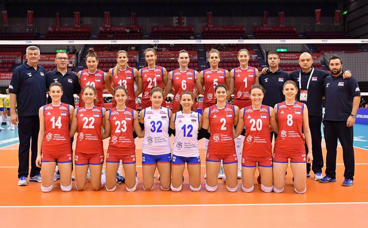 Odbojkašice Srbije, Svetski kup