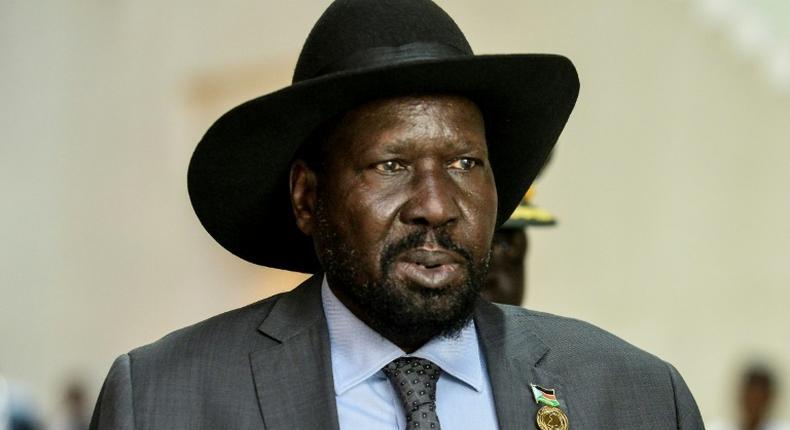 South Sudan president, Salva Kirr