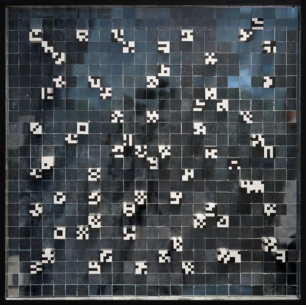 """Ryszard Winiarski, """"Obszar 53"""", 1971"""