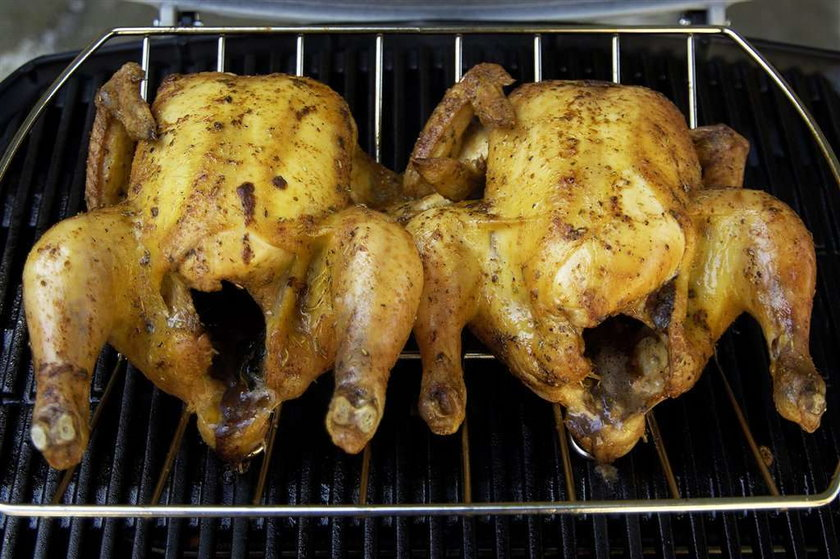 Kurczaki skażone siarczanem baru!