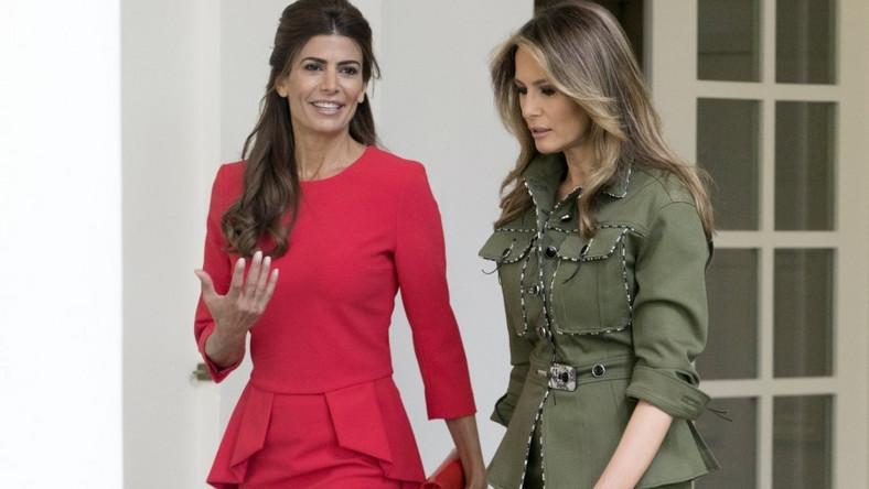 Pierwsza dama Argentyny i USA miały okazję poznać się w minionym tygodniu, kiedy argentyńska para prezydencka przybyła z wizytą do Białego Domu...