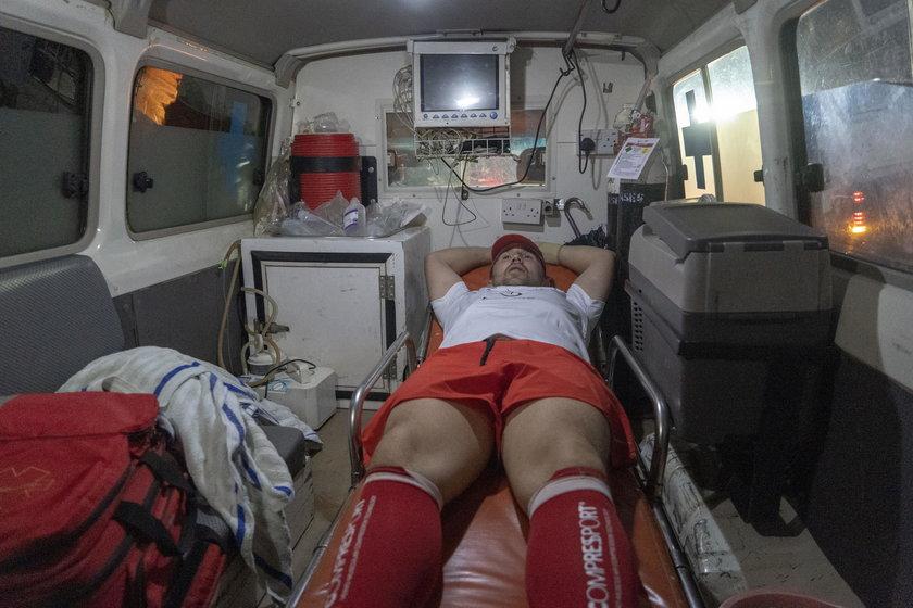 Krzysztof Drabik przebiegł 74 km by zebrać fundusze na rehabilitację dzieci!