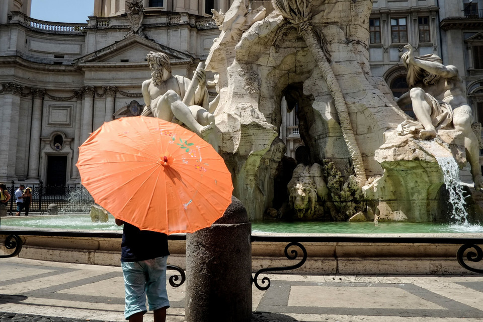 ITALY-WEATHER-HEAT-TOURISM