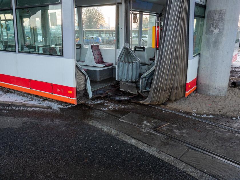Motorniczy spowodował wypadek tramwaju w Łodzi?