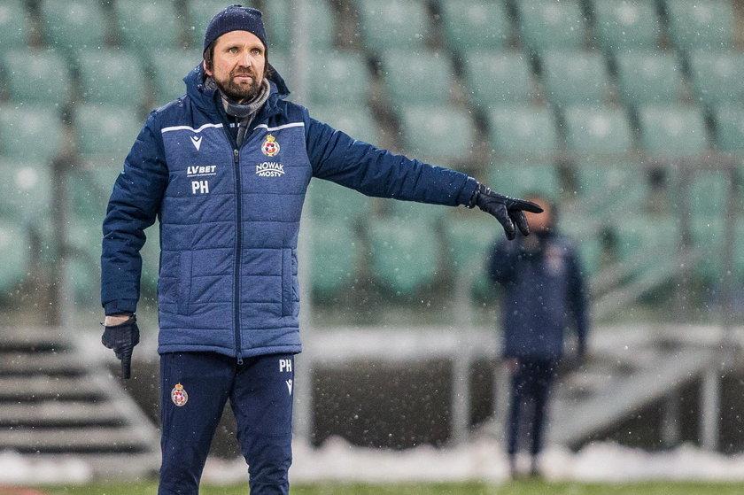 Pilka nozna. PKO Ekstraklasa. Slask Wroclaw - Wisla Krakow. 12.02.2021