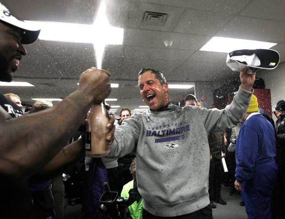 DžonHarbou, trener Baltimora, poput brata Džima slavi plasman u Superboul