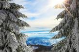 hrvatska sneg zima
