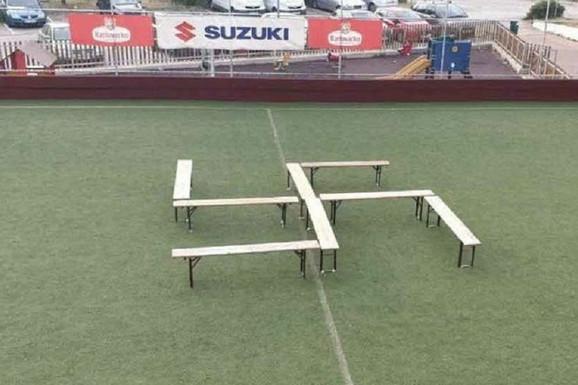 DOKLE VIŠE!? Ponovo kukasti krst na fudbalskom terenu u Hrvatskoj! Ovaj put u Dubrovniku