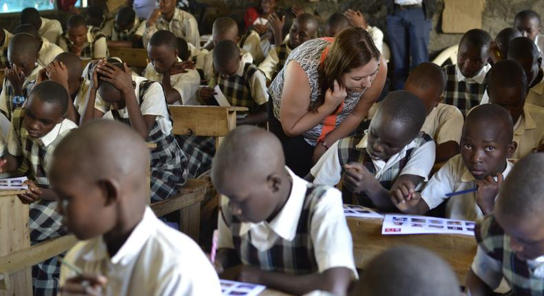 British Council links close to 100 Kenyan schools with UK schools in global learning campaign running in over 30 countries.
