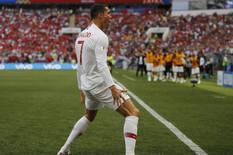 NEVIĐEN SKANDAL NA SVETSKOM PRVENSTVU Sudija tražio Ronaldov dres NA POLUVREMENU!