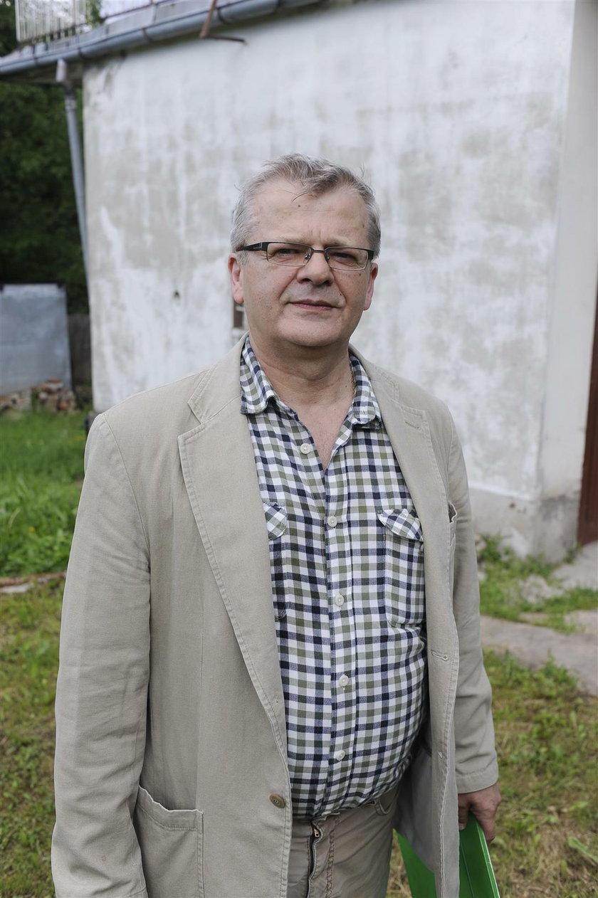 Krzysztof Gospodarek (60 l.), syn Violetty Villas