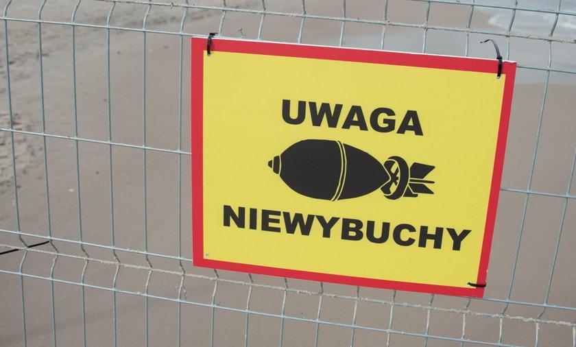 Niewybuchy w Warszawie