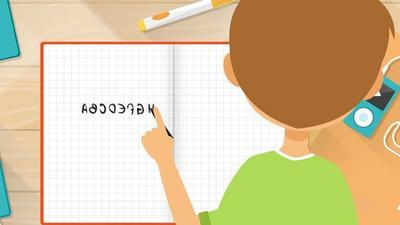 Why children write their letters backwards