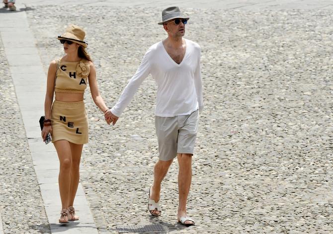 Sandra je sa suprugom Andrejem Meljničenkom ovog leta uživala u Portofinu u Italiji