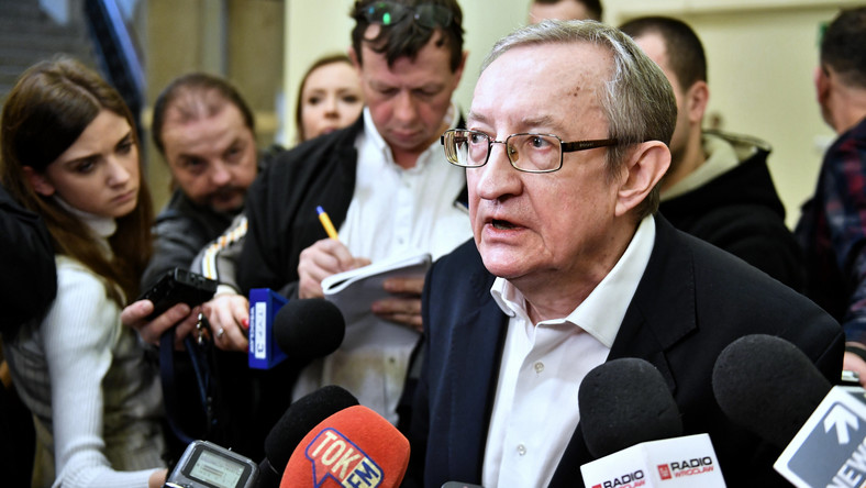 Były senator Józef Pinior