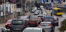 Drogowy horror na Sądowej w Katowicach