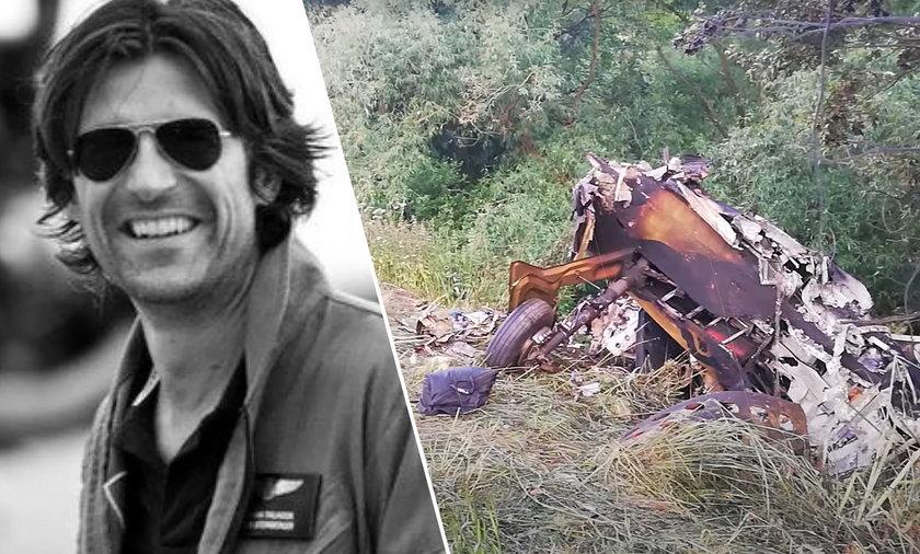 54-letni pilot zginął w katastrofie samolotu lecącego z Polski.