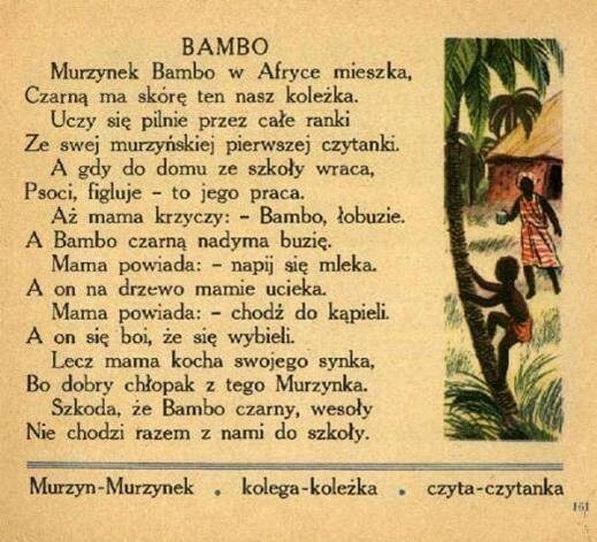 "Wiersz ""Bambo"""