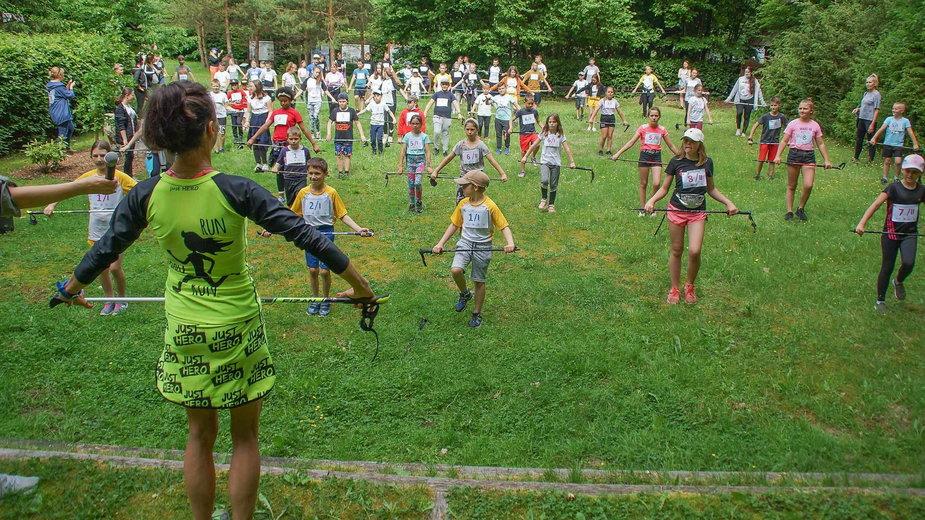 Mistrzostwa Powiatu Drawskiego w Nordic Walking dla uczniów