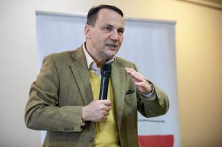 Radosław Sikorski o kierowaniu PO: 'Nie ma tematu'