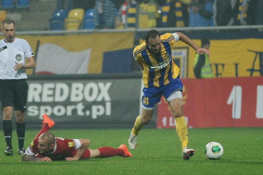 Tomasz Frankowski znów na boisku