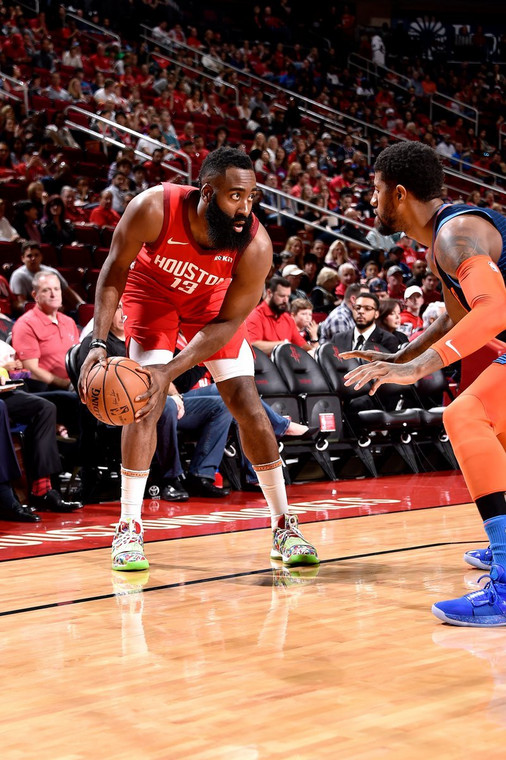 James Harden was in sensational form for the Rockets [NBA]