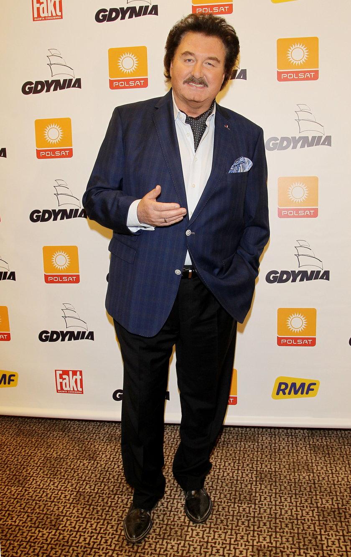 Krzysztof Krawczyk w grudniu 2014