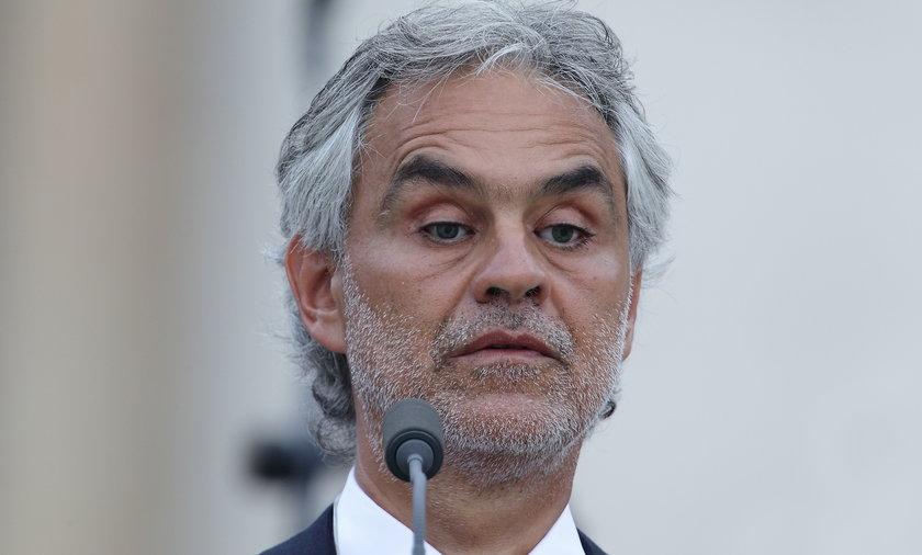 Andrea Bocelli zaśpiewa przed meczem otwarcia Euro 2020.