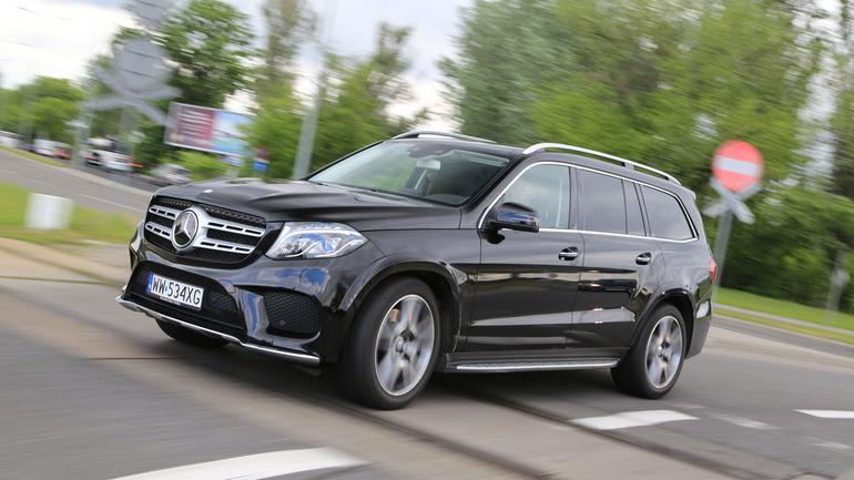 Mercedes GLS 500 - ogromny wśród gigantów