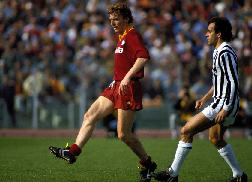 Zbigniew Boniek (65 l.) grał w Romie w latach 1985–1988.