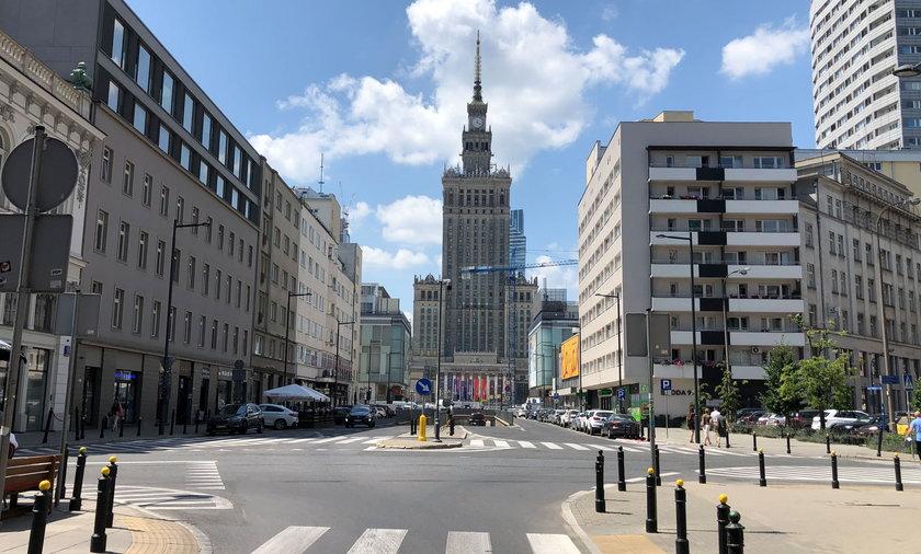 Więcej zieleni i ułatwienia dla pieszych – rusza konkurs na rejon ulic Złotej i Zgoda.