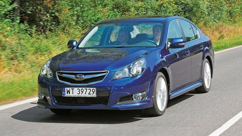 Kusi techniką i solidną budową - Używane Subaru Legacy