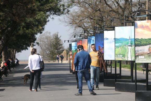 Beograd, lepo vreme, subota, korona virus