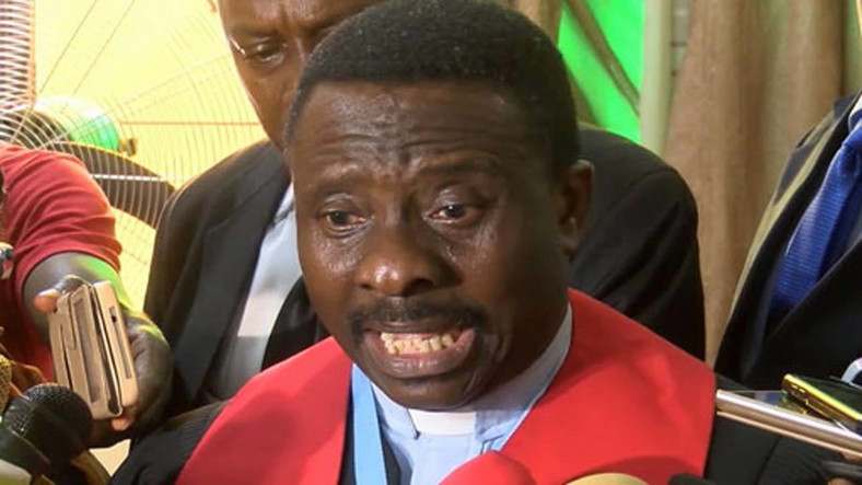 CAN president, Rev. Samson Ayokunle [Premium Times]