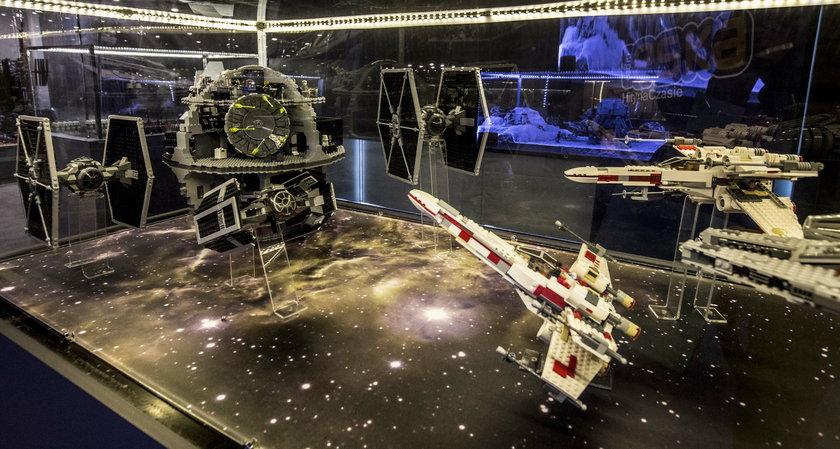 Wystawa z klocków Lego w Katowicach