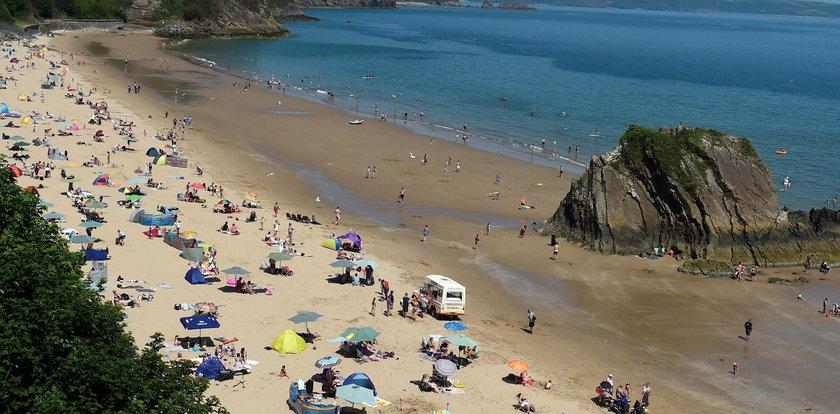 Tragedia na plaży. 37-letnia kobieta ratowała syna, sama utonęła