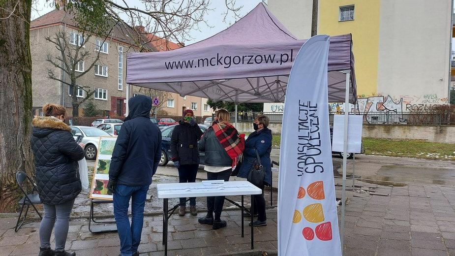 Konsultacje społeczne na os. Słonecznym w Gorzowie