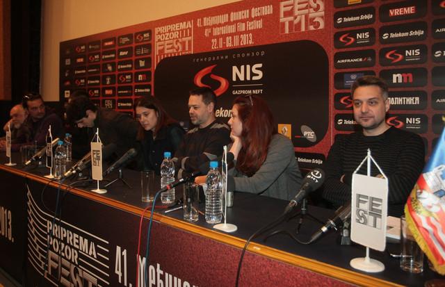 Golubović je na konferenciji za novinare otkrio neke detalje svog filma