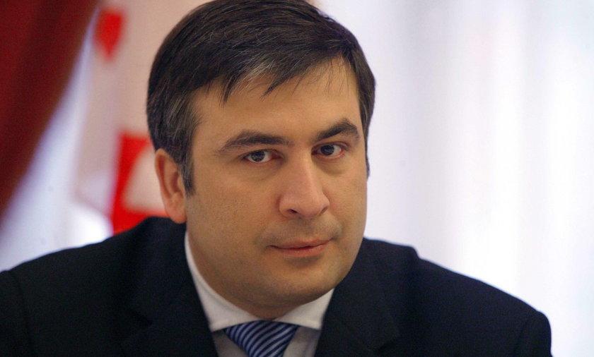 Micheil Saakaszwili przyleciał do Polski