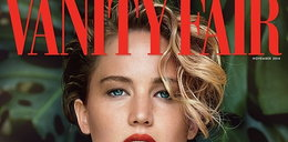 "Naga Jennifer Lawrence w ""Vanity Fair"""