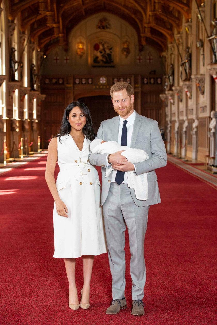 Meghan Markle i książę Harry mają synka Archie Harrison Mountbatten-Windsor