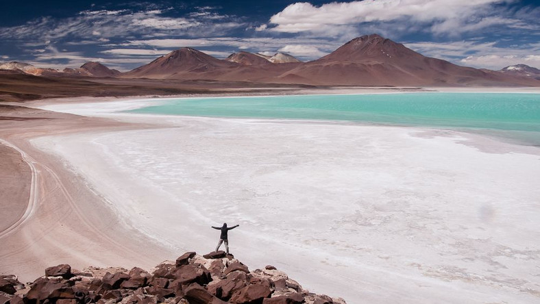 Laguna Verde, Park Avaroa, Boliwia; fot. T. Bogusz / Pirania na kolację