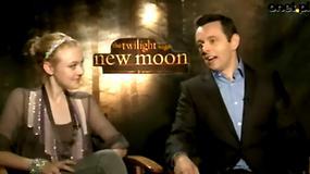 Saga Zmierzch: Księżyc w nowiu - Michael Sheen i Dakota Fanning o filmie (wywiad Onet.pl)