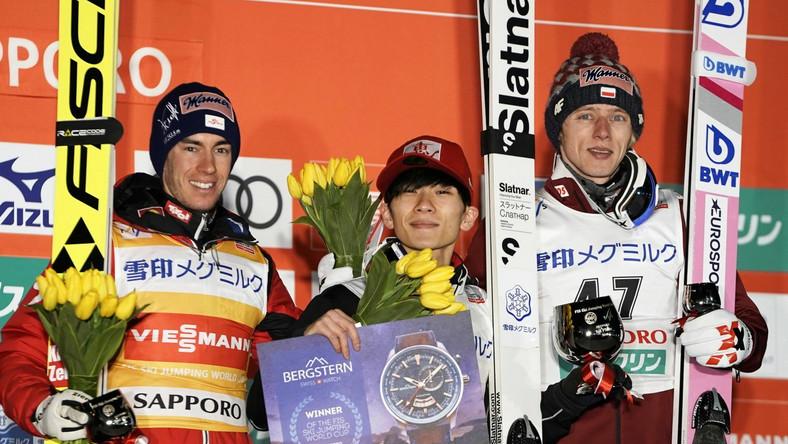 Zwycięska trójka na podium