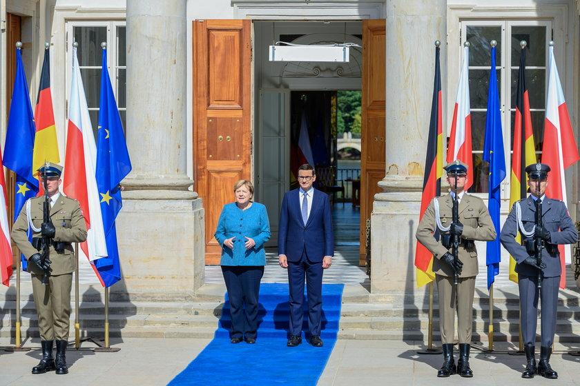 Prezydent Andrzej Duda o wizycie Merkel w Polsce: Bardzo mi przykro