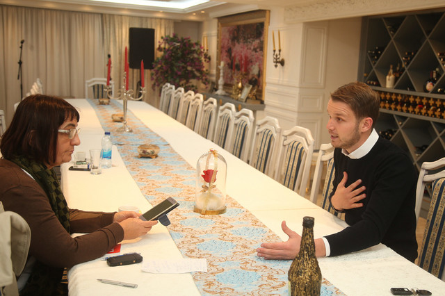 Draško u razgovoru sa novinarkom Srpskainfo i EuroBlica