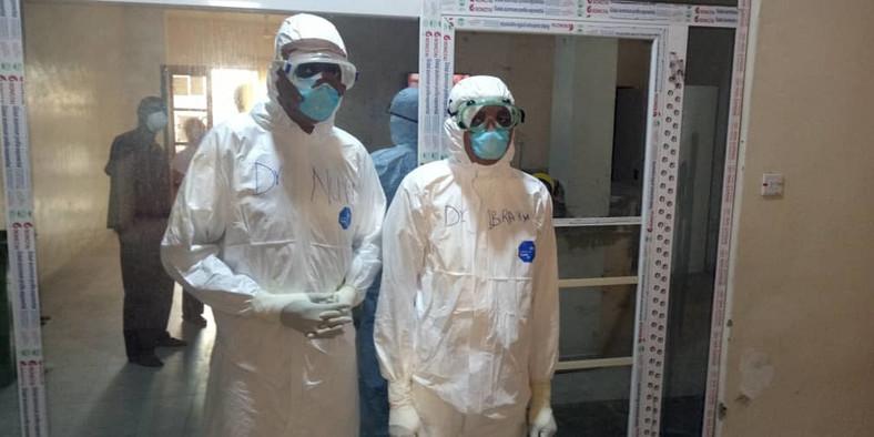Coronavirus test isolation center in Nigeria (Punch)
