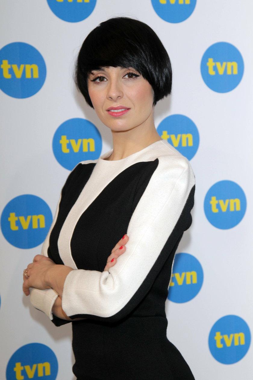 Tatiana Okupnik na ściance